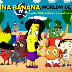 Anna Banana Website background