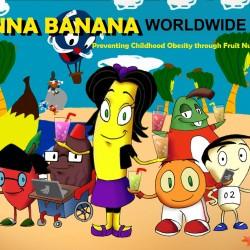 Anna Banana Website background