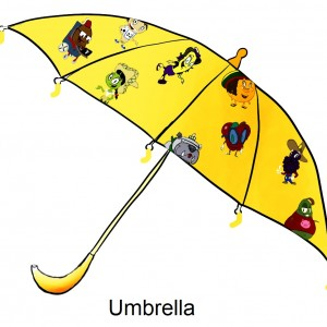 Anna Banana Umbrellas