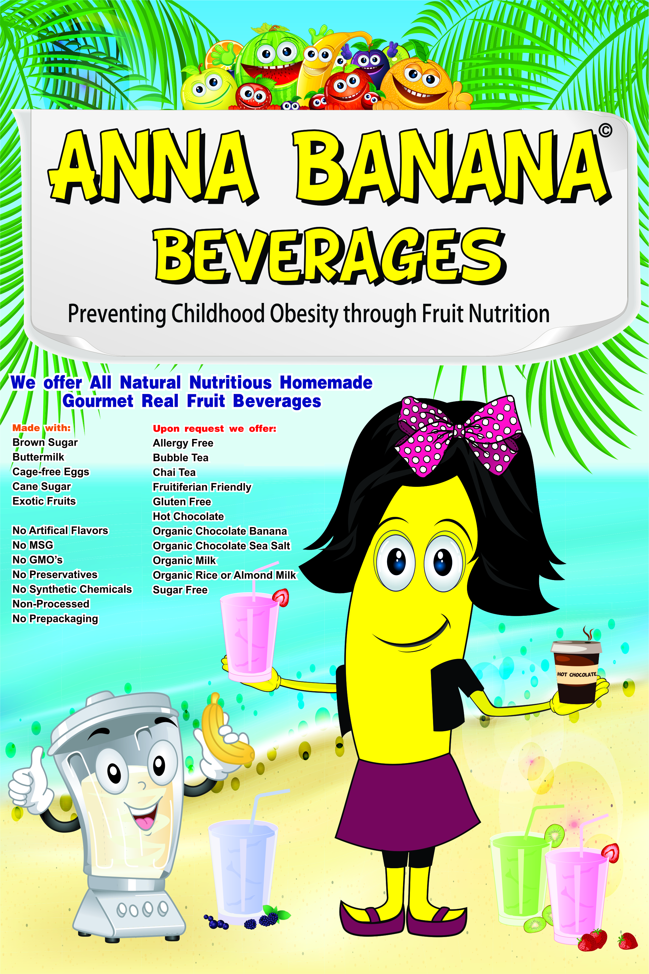 Anna Banana Smoothies